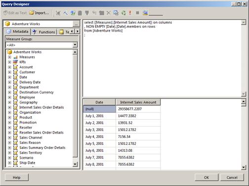 MDX queries | Paul Turley's SQL Server BI Blog