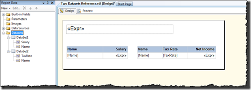 Using Custom Code Functions in Reporting Services Reports | Paul