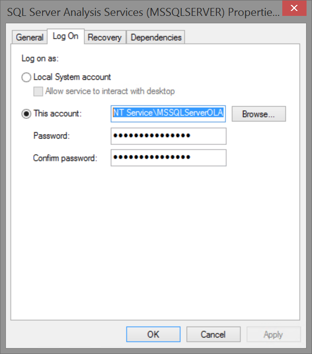 Error Log: How To Resolve Connection Errors When Loading Data In SSAS