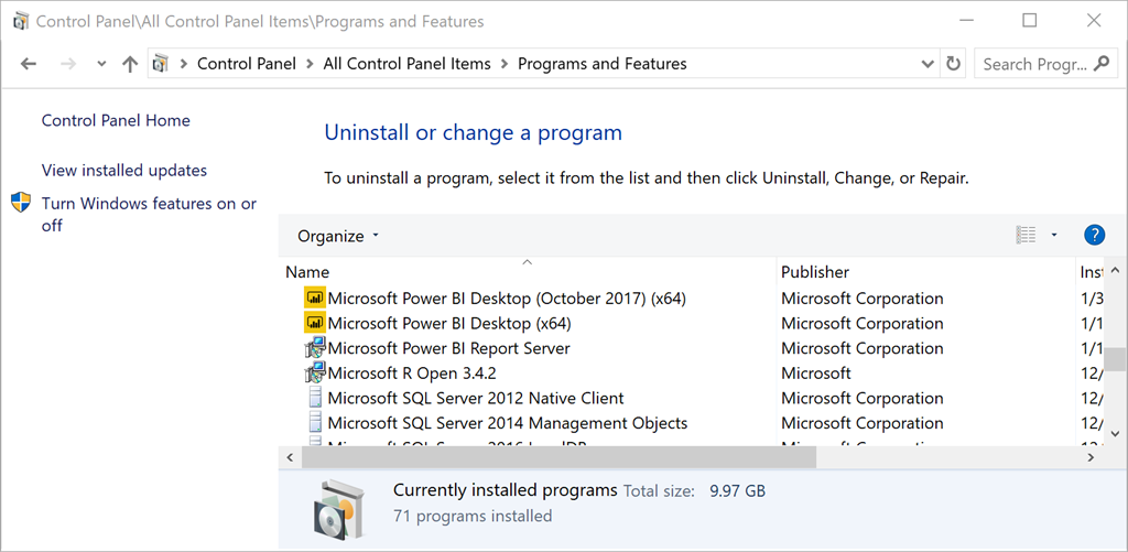 Managing Multiple Power BI Desktop Application Versions | Paul