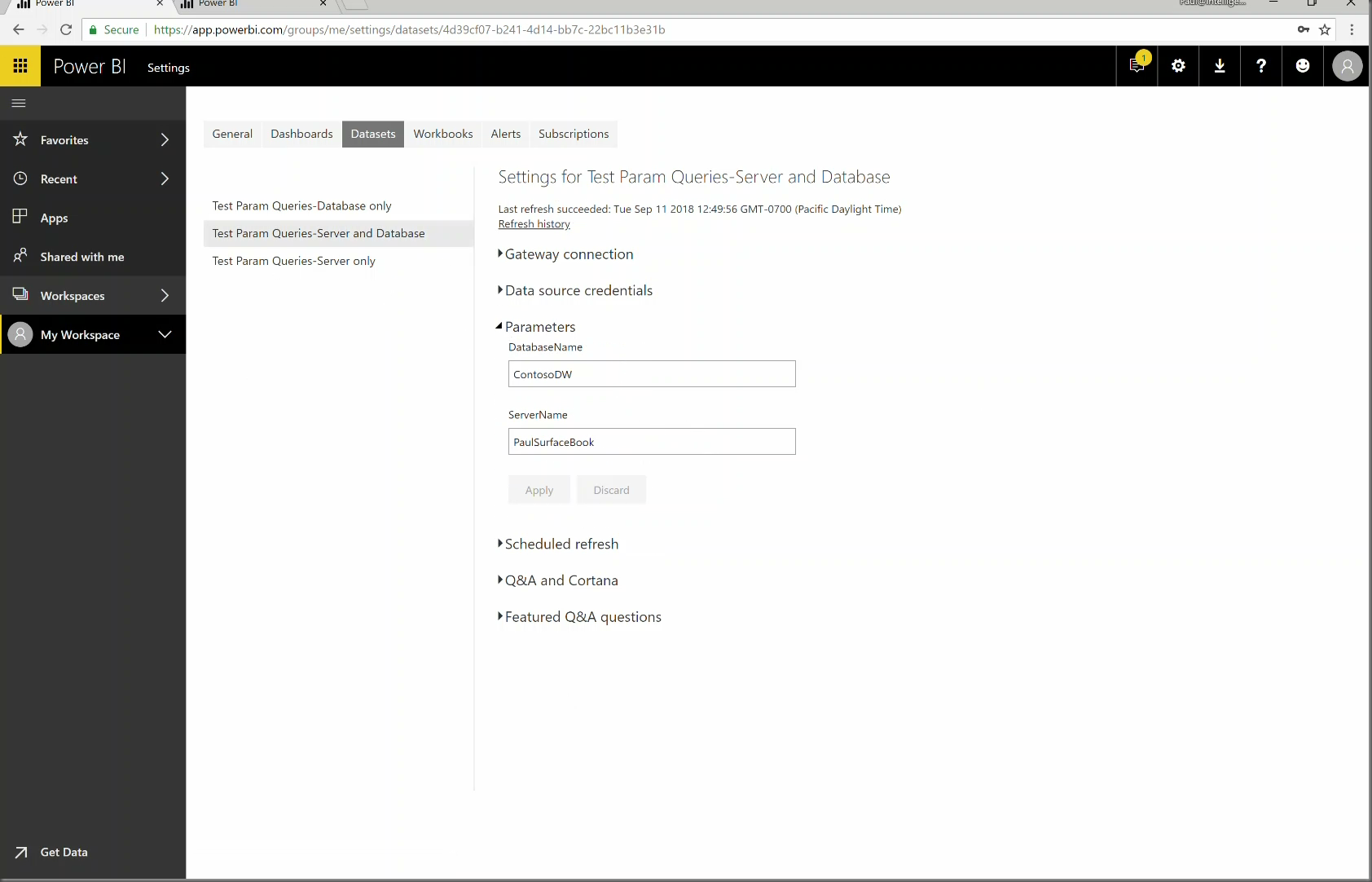 Power BI Gateway with Parameters (Time 0_06_46;21)