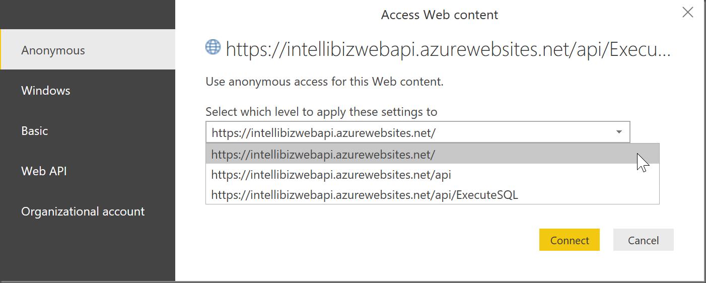Web Query Excel 2013